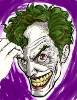 Portrait of a Joker by chosen-1