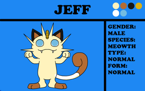 Jeff the Meowth by TheChiefofTime