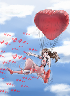 Love is in the air (Secret Cupid) by Kassandra-21