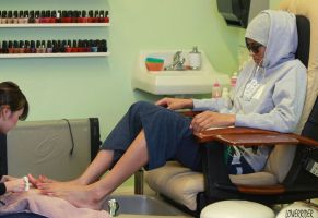Ciara pedicure by lowerrider