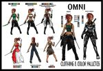 OMNI- Clothing and Color Palletes by Mekari