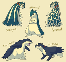 Pokemon Subspecies: Typhlosion by CoolPikachu29