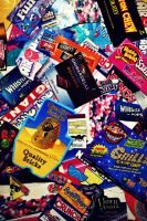 Candy Wrappers Part Deux by Incessant-Star