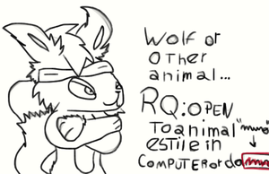 Animal RQs Open by HTF-Characters