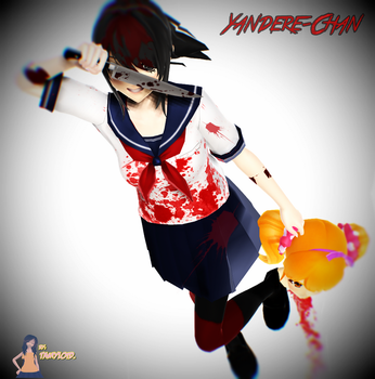 Yandere-Chan by tamyloid
