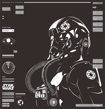 Imperial TIE Fighter by ky27