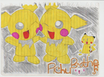 Pichu Brothers by cartoonboyplz