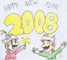 Happy Late New Year by Mister-Saturn