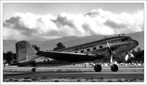 American Airlines DC-3 by NitzkaPhotography