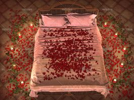 Bed Of Roses by Trisste-stocks