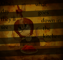 :VC: What Goes Down In The Kitchen by GlassFeline