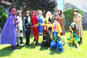 ColossalCon 2014 - Marvel Photoshoot 06 by VideoGameStupid