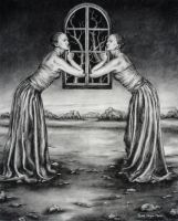 Mirroring - Speiling by Luna-NYX