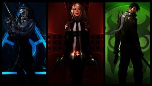 3 Faction Combo The Secret World 1920x1080 by BlackLotusXX