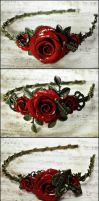 Rosarium Headbands 8 9 10 by Necrosarium