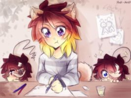 [Doodle] Work by Nadi-Chan