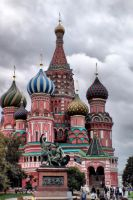 Moskow Basils Cathedral by buster76
