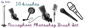 Microphone Brushes by punkdoutkittn