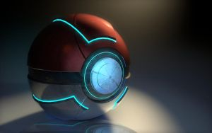 Pokeball by XxdrummerxX