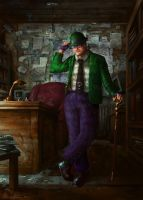 The Riddler by Vablo