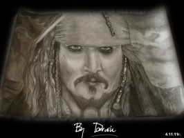 Jack Sparrow - Pirate of The Desk by D43W1N