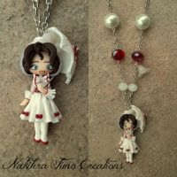 Mary Poppins White Dress by Nakihra