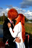Ichi X Hime Kiss by DianaBlack