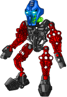 Takua Av-matoran by DarthDestruktor
