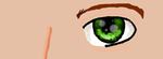 Realistic manga eye by Dawn1223