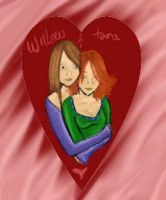 Willow and Tara buffy fan-art by Kalathra