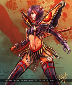 Kill la kill Ryuko by sempernow