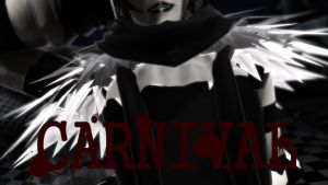 [MMD::Creepypasta]  Carnival::Laughing Jack by algebraicPacificer