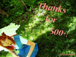 Thanks for 500+ page views by SheolReaper