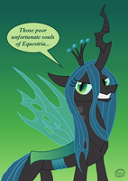 Queen Chrysalis of the Changelings by UncleScooter