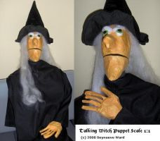 Puppetry Scale 1:1 Witch by Hauptsturmfuhrer