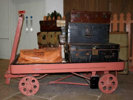 Edwardian Luggage - Stock by GothicBohemianStock