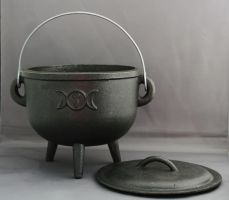 Cauldron lid off - Magic Stock by Sassy-Stock