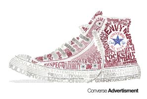 Chuck Taylor Typography Vector by CrackheadJimmy