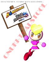 (BETA) Pretty Suppots Bomberman for Sm4sh by OldCartoonNavy47