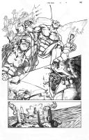 X-Men Schism 5 Page 9 Sample by thecreatorhd
