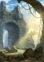 Lair ruins by gerezon