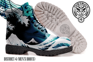 District 4: Wave Boots (Men) by jaaawn