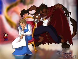 Jen's Beauty and the Beast by jocarra