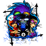 2 hookers and an 8 ball by Lilyfer