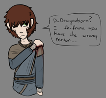 You Must Be Dragonborn! by TheseWeirdFishes