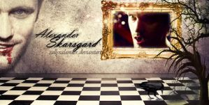 Skarsgard banner by Dark-Voices