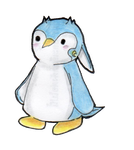Cute penguin. by Whitewest