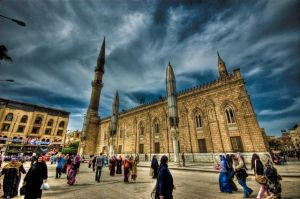 Alhusain Mosque 1 - HDR by Ageel