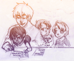 APH: family time? by Shiraae