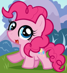 Pinkie Pie, My Little Pony Chibi by Dragoart